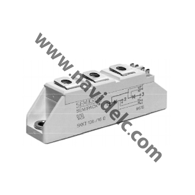 ماژول تریستور دوبل SKKT 57-16E THYRISTOR DUAL MODULES